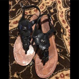 Coach sandals size 6.5